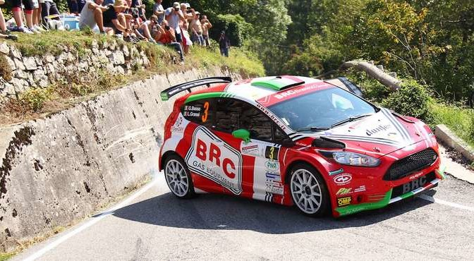 Giandomenico Basso, Lorenzo Granai (Ford Fiesta R5 #3, Movisport)