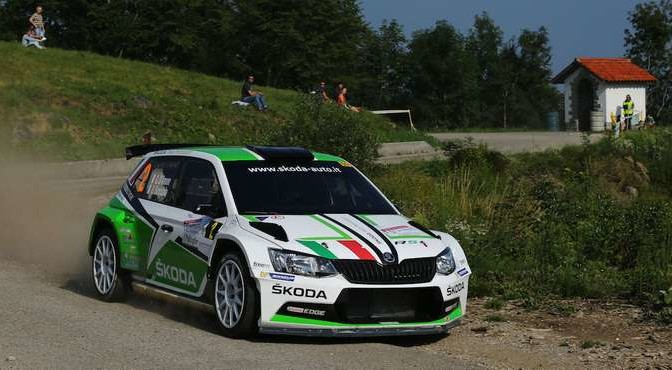 Umberto Scandola, Guido Damore (Skoda Fabia R5 #2, Car Racing)