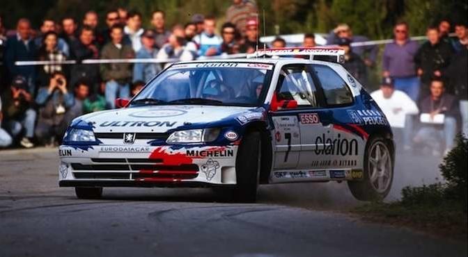 358 - Rallye France 1997. Corse. Panizzi/Panizzi. Peugeot 306 Maxi.