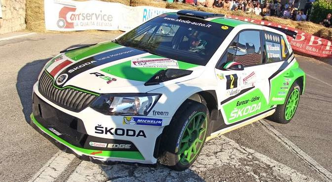 Umberto Scandola, Guido Damore (Skoda Fabia R5 #2, Car Racing)