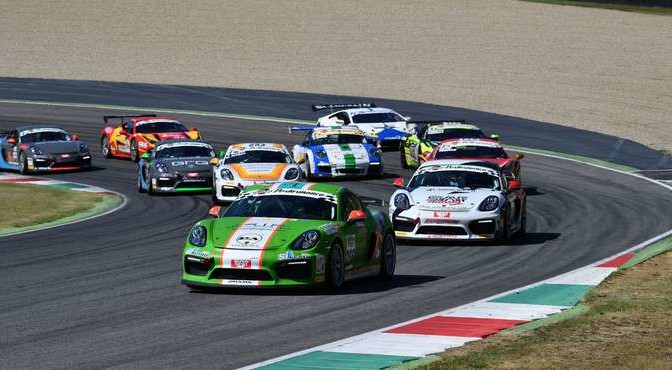 Mercatali-Ceccotto (Dinamic Motorsport,Porsche Cayman GT4 CS #256)