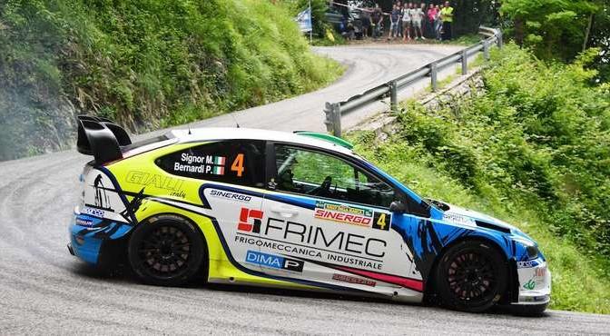 Marco Signor, Patrick Bernardi (Ford Focus WRC #4, Sama Racing Asd)