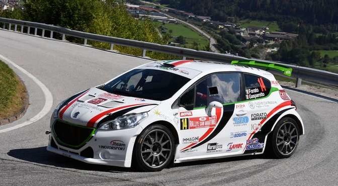 Antonio Forato, Ivan Gasparotto (Peugeot 208 R R5 #14, Vimotorsport)