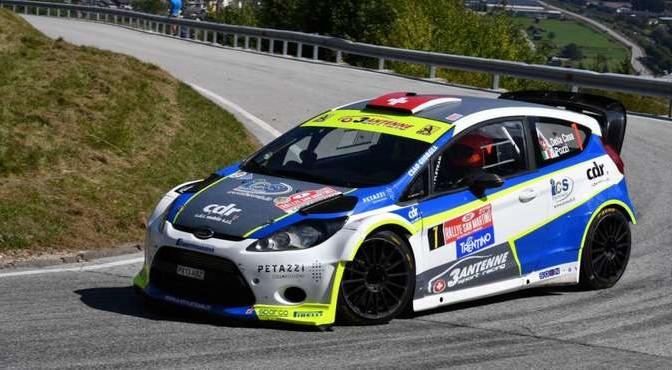 Lorenzo Della Casa, Domenico Pozzi (Ford Fiesta WRC #7)