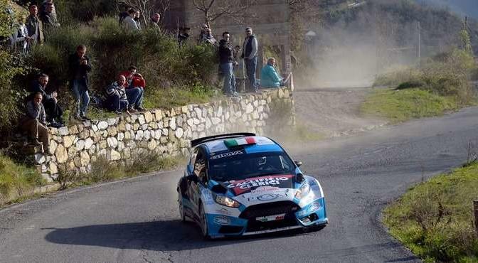 Ivan Ferrarotti, Gaetano Caputo (Ford Fiesta R5 #8, Movisport);