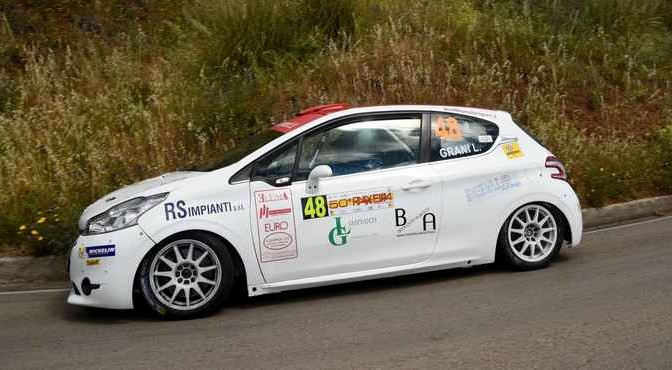 Lorenzo Grani, Chiara Lombardi (Peugeot 208 R2 #48, Movisport)