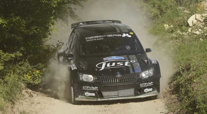 Luca Hoelbling, Mauro Grassi (Skoda Fabia R5 #12, Car Racing)