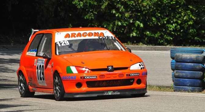 Giuseppe Aragona (Cubeda Corse  Peugeot 106  129)