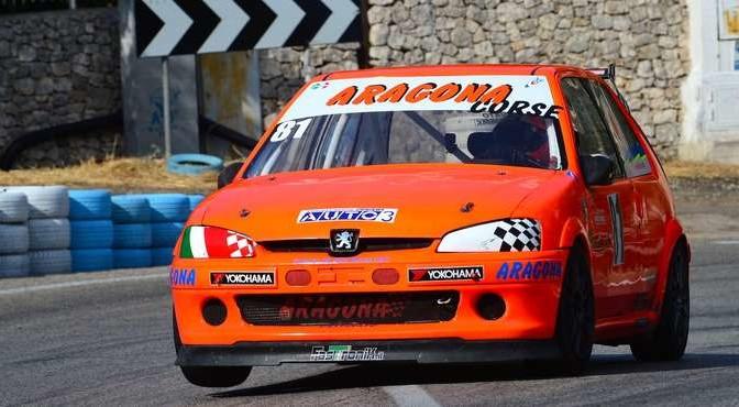 Giuseppe Aragona (Cubeda Corse  Peugeot 106  81)