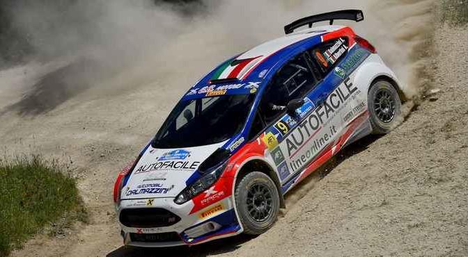 Andrea Dalmazzini, Andrea Albertini (Ford Fiesta R5 #9, X Race Sport)