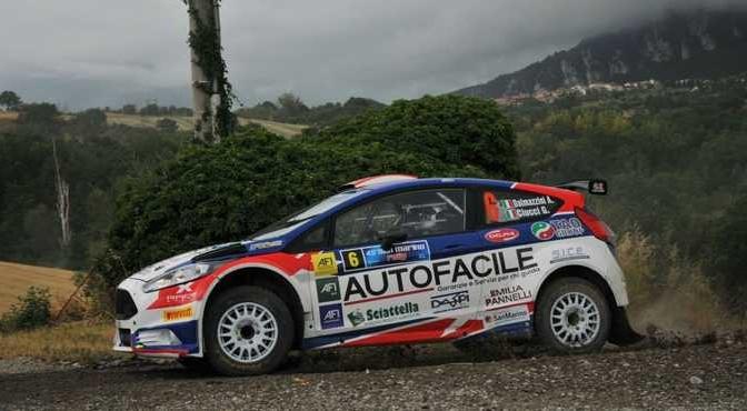Andrea Dalmazzini, Giacomo Ciucci (Ford Fiesta R5 #6, X Race Sport)