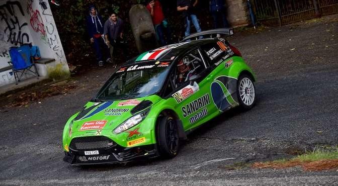 Antonio Rusce, Sauro Farnocchia (Ford Fiesta R5 #104, X Race Sport)