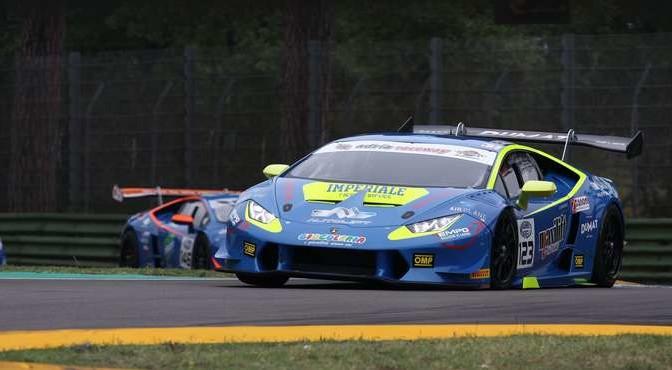 Bonacini-Pastorelli (Imperiale Racing,Lamborghini Huracan-S.GTCup #123)