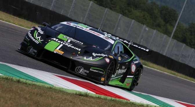 Agostini-Zampieri (Antonelli Motorsport,Lamborghini Huracan- S.GT3 #63)