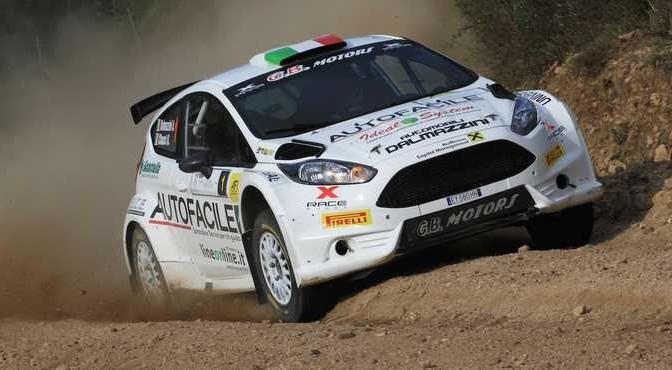 Andrea Dalmazzini, Giacomo Ciucci (Ford Fiesta R5 #1, x Race Sport)