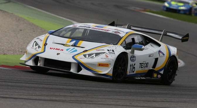 Cazzaniga-Damico (Vincenzo Sospiri Racing,Lamborghini Huracan, S.GTCup #116)