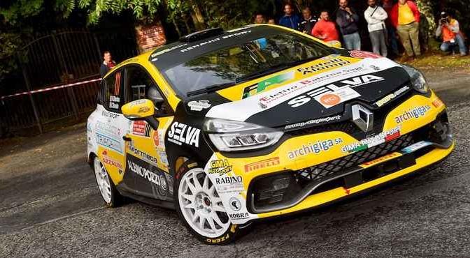 Kevin Gilardoni, Corrado Bonato (Renault Clio R3T #111, Movisport)