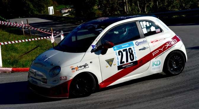 Giorgio Massaini (P&G Racing  Fiat 500  278)