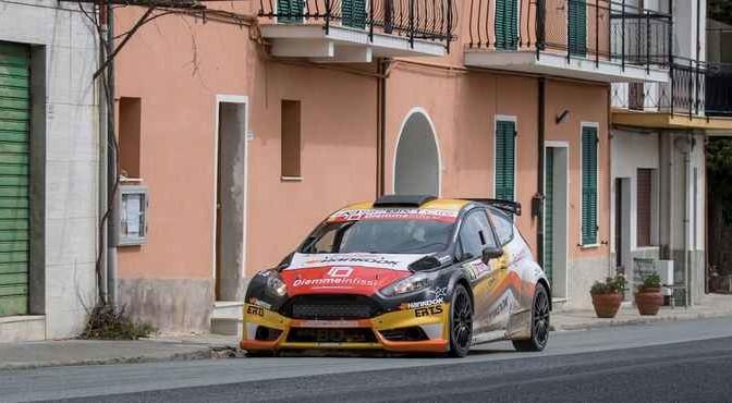 Luca Panzani, Francesco Pinelli (Ford Fiesta R5 #14, ASD Motorsport)
