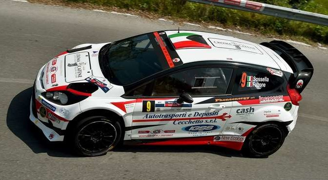 Manuel Sossella, Gabriele Falzone (Ford Fiesta WRC #9, Scuderia Palladio)