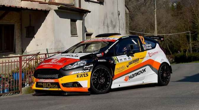 Luca Panzani, Francesco Pinelli (Ford Fiesta R5 #12, Art Motorsport)