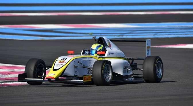 Marzio Moretti (BVM Racing,Tatuus F.4 T014 Abarth #31)