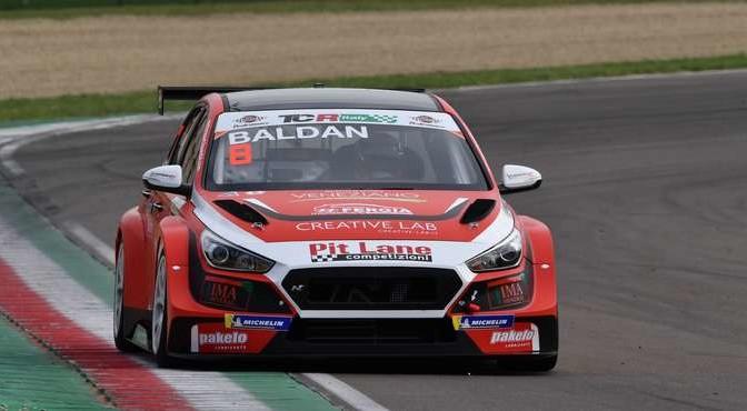 Nicola Baldan (Pit Lane Competizioni,Hyundai i 30 TCR #8)