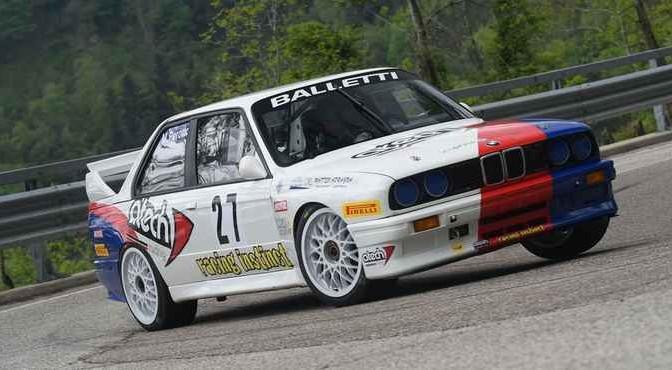 Massimo Perotto (Bologna Squadra Corse, BMW M3 #17)