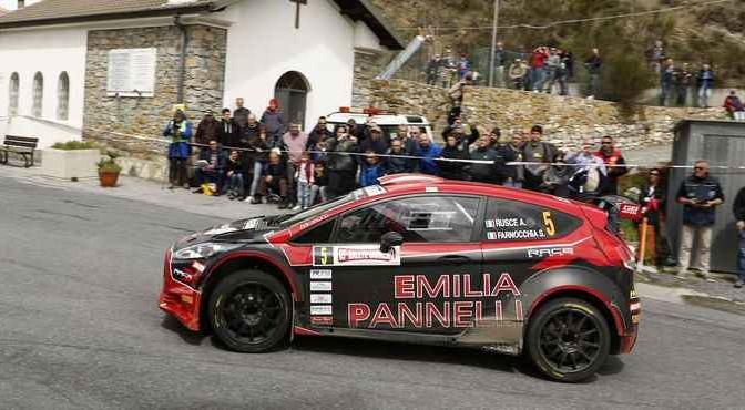 Antonio Rusce, Sauro Farnocchia (Ford Fiesta R5 #5, X Race Sport)