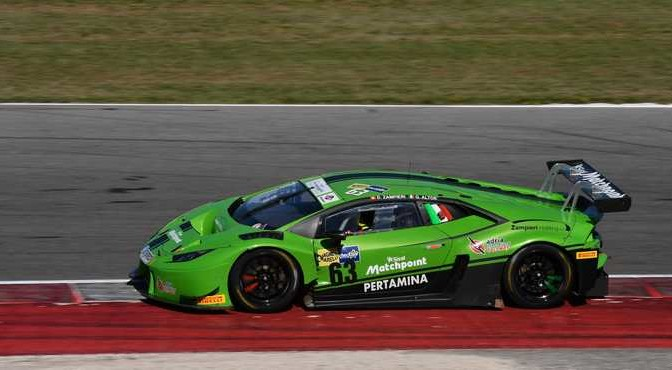 Zampieri-Altoè (Antonelli Motorsport,Lamborghini Huracan #63)