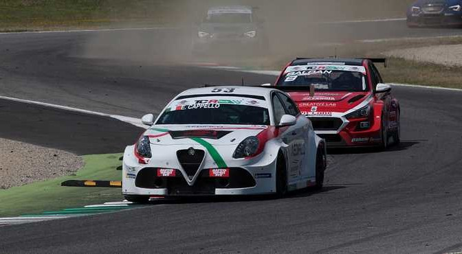 Edoardo Cappello (Alfa Romeo Giulietta TCR #53)