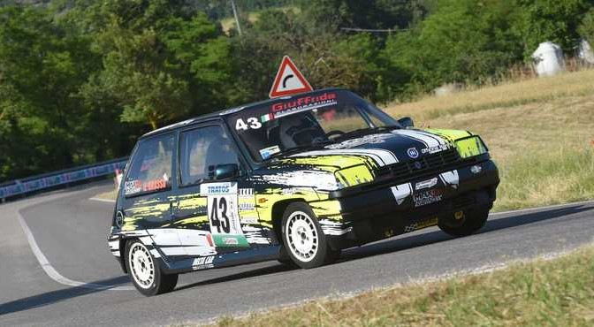 Grasso Giovanni ( 5 Speed, Renault 5 GT Turbo #43)