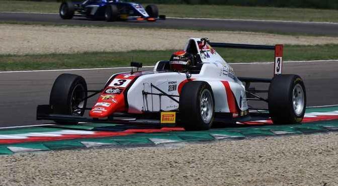 Edoardo Morricone (DR Formula,Tatuus F.4 T014 Abarth #3)