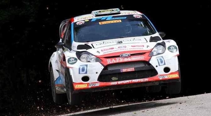 Manuel Sossella, Gabriele Falzone (Ford Fiesta WRC #7, Scuderia Palladio)