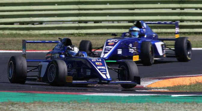 Andrea DellAccio (Cram Motorsport,Tatuus F.4 T014 Abarth #24)