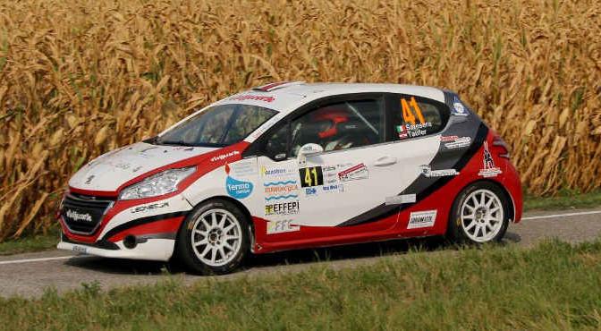 Gianluca Saresera, Daniel Taufer (Peugeot 208 R2 #41, Leonessa Corse)