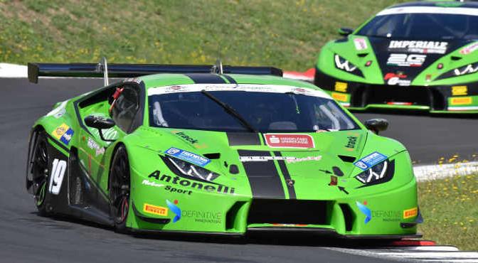 Vedel-Veglia (Antonelli Motorsport,Lamborghini HUracan-GT3 #19)