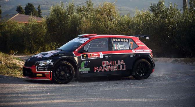 Antonio Rusce, Sauro Farnocchia (Ford Fiesta R5 #7, XRaceSport)