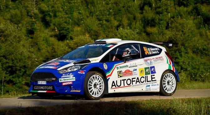 Andrea Dalmazzini, Giacomo Ciucci (Ford Fiesta R5 #54, XRaceSport)