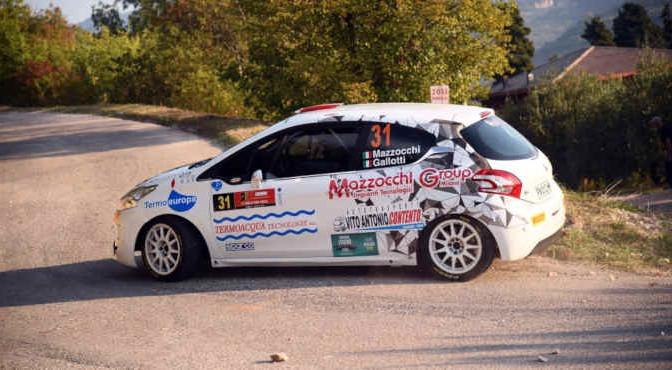 Andrea Mazzocchi, Silvia Gallotti (Peugeot 208 R2 #31, Leonessa Corse)