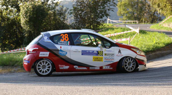 Gianluca Saresera, Manuel Fenoli (Peugeot 208 R2 #38, Leonessa Corse)