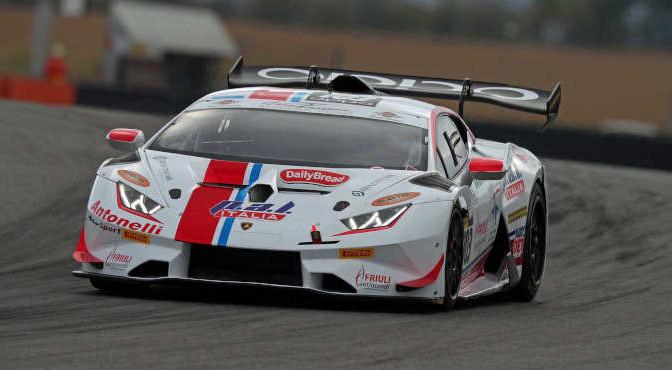 Sartori-Di Fant (Antonelli Motorsport,Lamborghini Huracan-S.GTCup #103)