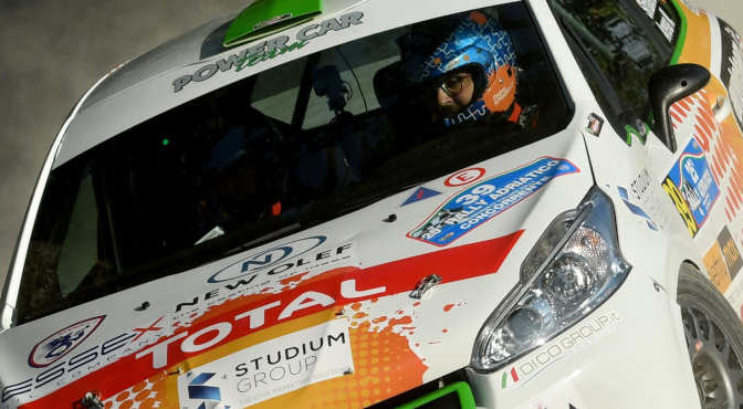 Stefano Strabello, Nicola Arena (Peugeot 208 R2 #39, Destra4)