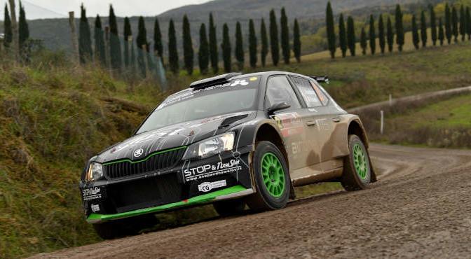 Luca Hoelbling, Mauro Grassi (Skoda Fabia R5 #2, Car Racing)