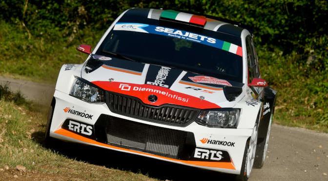 Luca Panzani, Francesco Pinelli (Skoda Fabia R5 #49, ART Motorsport)