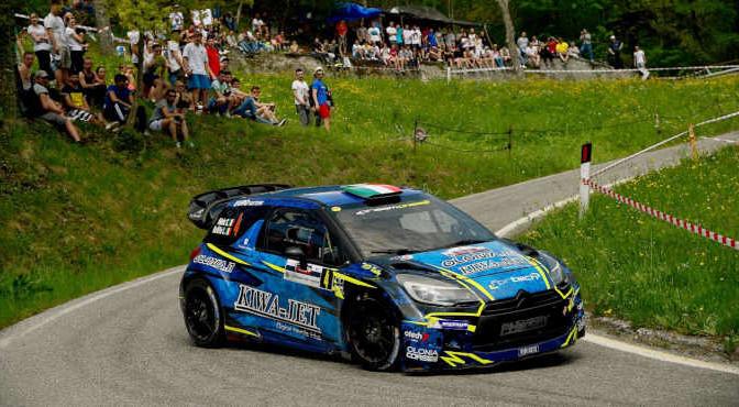 Simone Miele, Lisa Bollito (Citroen DS3 WRC#4, Top Rally)