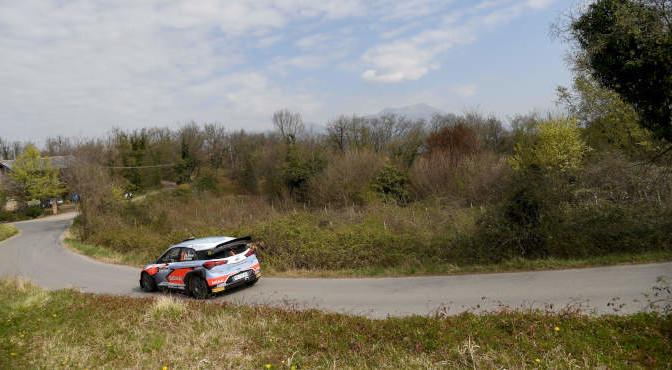 Corrado Fontana, Nicola Arena (Hyundai i20 WRC #1. Bluthunder)