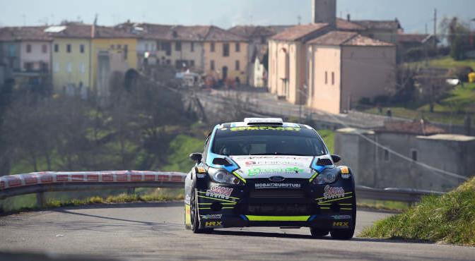 Marco Signor, Patrick Bernardi (Ford Fiesta WRC #2, Sama Racing)