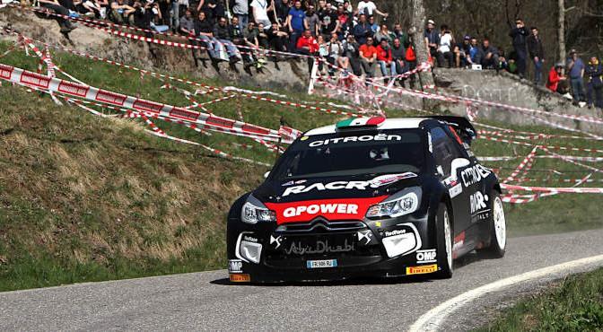 Luca Pedersoli, Anna Tomasi (Citroen DS3 WRC #3)