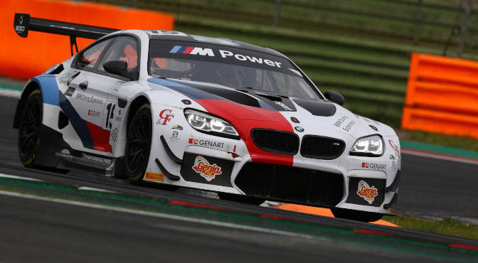 Comandini-Johansson (BMW Team Italia,BMW M6 GT3 PRO #15)